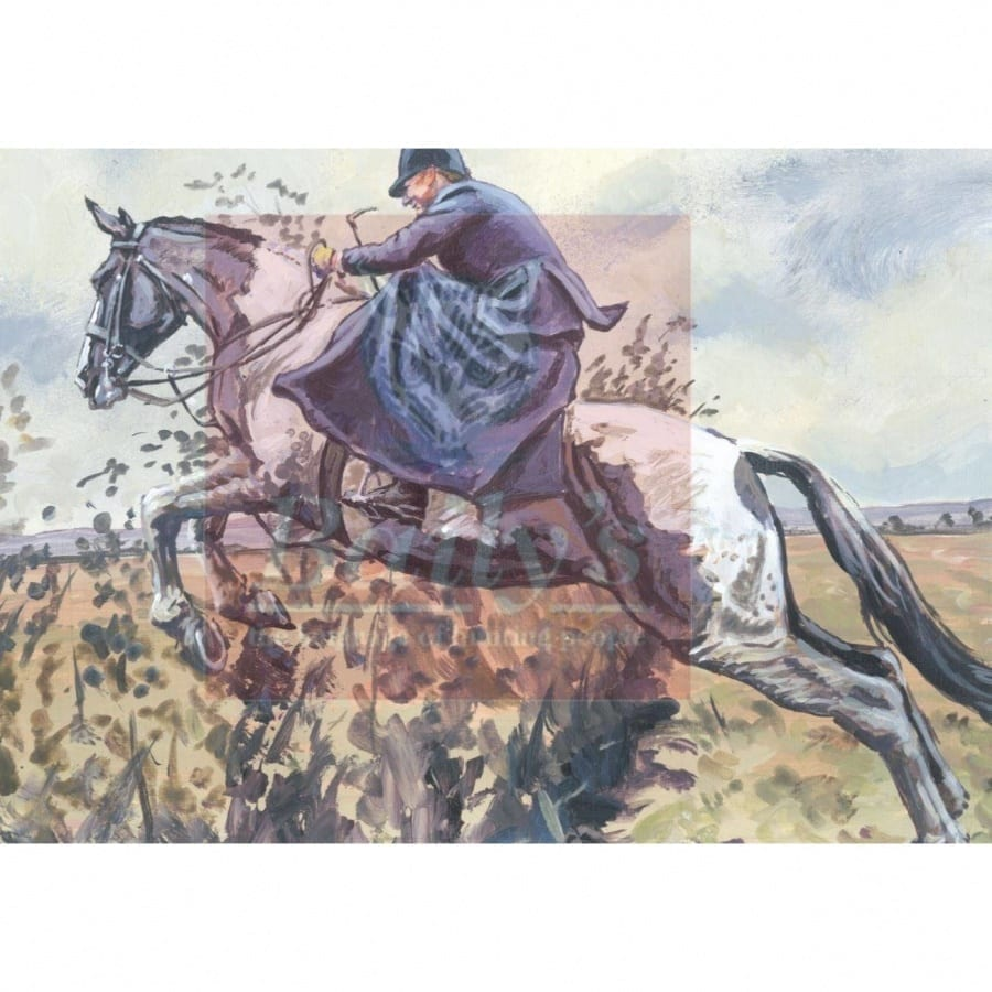 Limited Edition Liam Clancy Artwork Commissioned for the Bailys Hunt Report Book (Mounted) Ward Union Staghounds